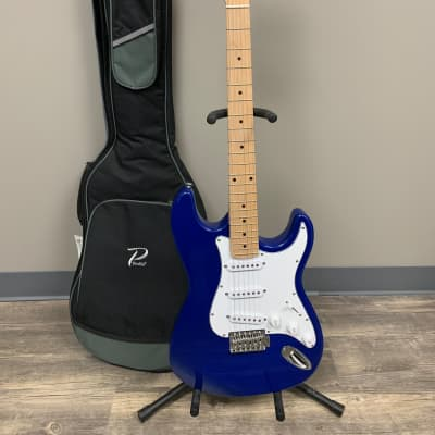 Crestwood ST Strat Style 2010s Blue for sale