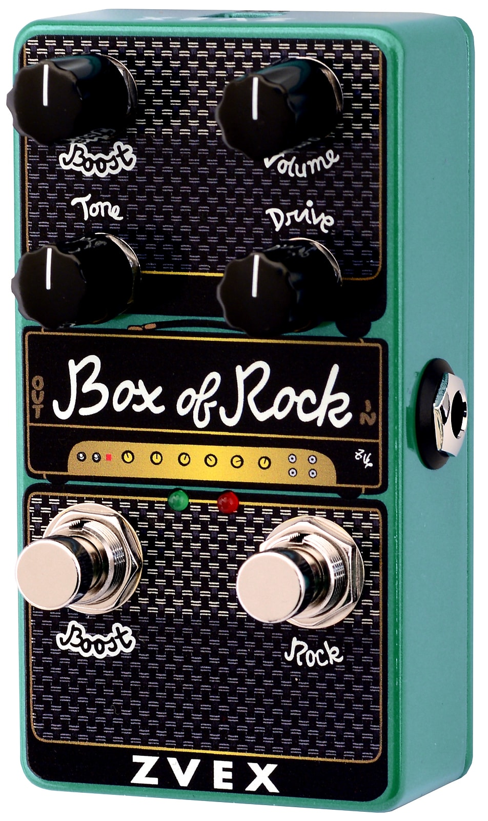 ZVEX Box of Rock Vertical Overdrive / Distortion Effects Pedal