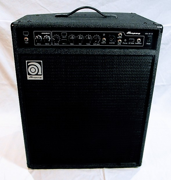 ampeg ba 210 v2 450 watt 2x10 bass combo amplifier reverb. Black Bedroom Furniture Sets. Home Design Ideas
