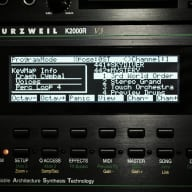 Graphic Display Upgrade - Yamaha TG-77 SY-77 SY-99 Kurzweil K2000 K2000R K2000VX