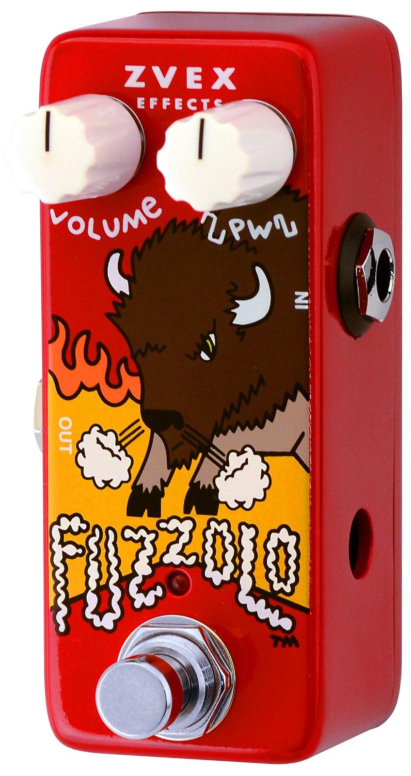 ZVEX Fuzzolo Mini Fuzz Effects Pedal