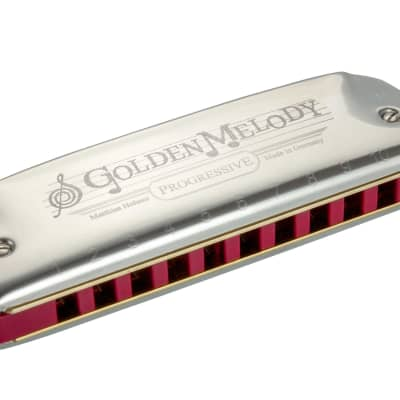 Hohner Golden Melody Equal Temperament Diatonic Harmonica - Key of A