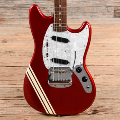Fender '69 Mustang Competition Red 2002 for sale