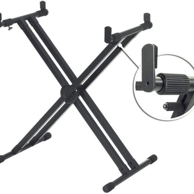 Yamaha YKA7500 Double Braced X-Style Keyboard Stand