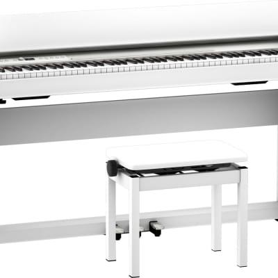 Roland F701 Digital Piano   - White