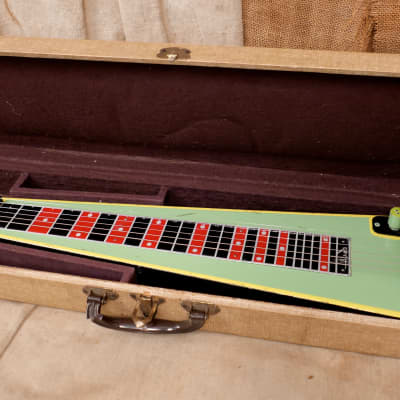 Alamo Lap Steel 1960's Green for sale