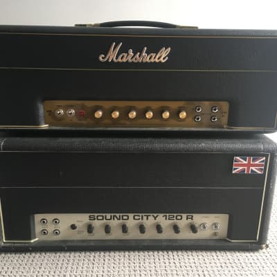 Sound City 120R 70's Black/silver for sale