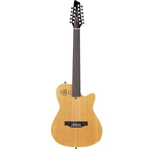 Godin A11 Glissentar 11-String Fretless with Electronics Natural