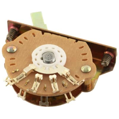 3 Way Telecaster Guitar Switch Oak Grigsby