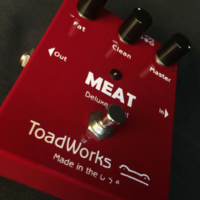 NOS Toadworks Meat Deluxe Boost  Guitar Effects Pedal