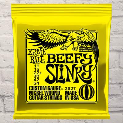 Ernie Ball EB2627 Beefy Slinky Electric Guitar Strings 11 - 54