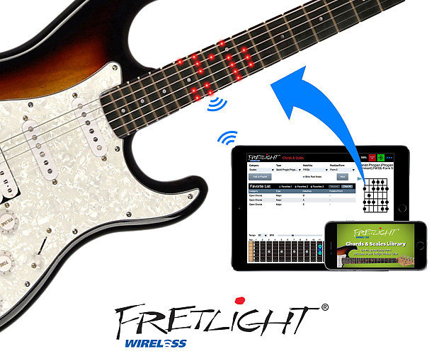 fg 621 wireless electric guitar white right handed reverb. Black Bedroom Furniture Sets. Home Design Ideas