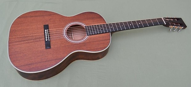 Recording King ROS-616 12 Fret 000 All Solid Mahogany Acoustic Guitar