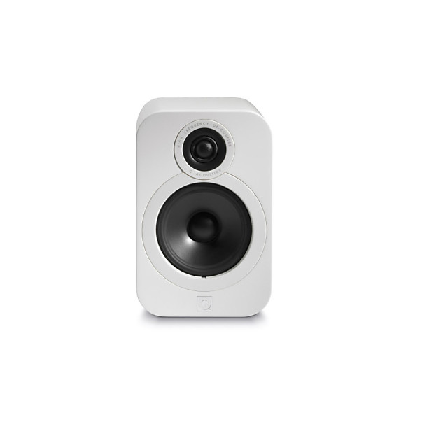 q acoustics 3020 bookshelf speaker pair gloss white reverb. Black Bedroom Furniture Sets. Home Design Ideas