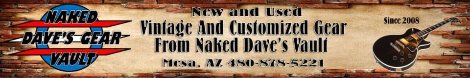Naked Dave's Gear Vault