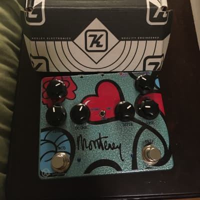 Keeley Monterey Rotary Fuzz Vibe w/ external effect order switch