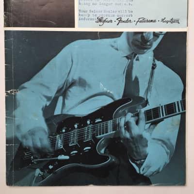 Ultra Rare September 1964 Selmer Guitar & Bass Catalog Featuring Fender, Hagstrom, Hofner