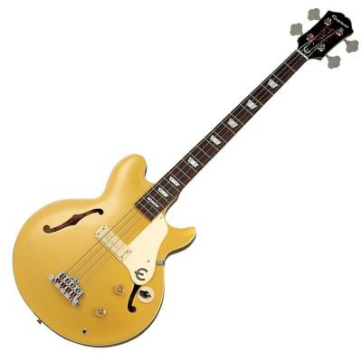Epiphone Limited Edition Artist Series Jack Casady Signature Semi Hollow Bass Silverburst