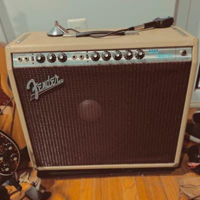 Fender Bandmaster 1967 Combo Cream / Burgundy