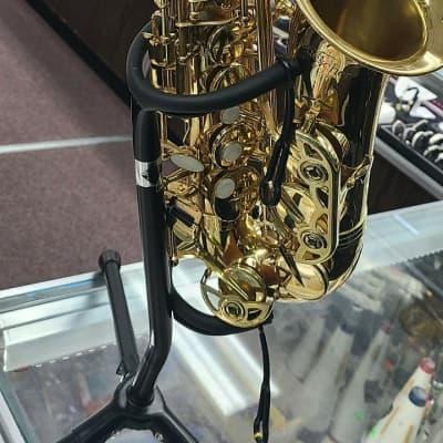 Buescher BU-4  Brass Alto Sax