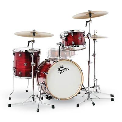 Gretsch Catalina Club 3-Piece Drum Set (18/12/14)- Gloss Crimson Burst