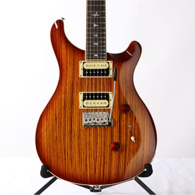 Paul Reed Smith SE Custom 24 Zebrawood Electric Guitar - Vintage Sunburst