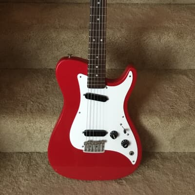 Fender Bullet Red S-1 1981-1982 red single cutaway John Page design for sale
