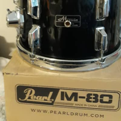 Maxwin By Pearl Tom Drum 80s Gloss Black