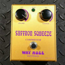 Way Huge Saffron Squeeze Original MKI 1998 Compressor  FREE SHIPPING