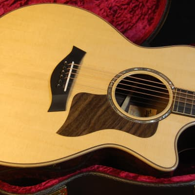Taylor 814ce Sitka Spruce/Indian Rosewood Grand Auditorium V-Class Bracing Authorized Dealer SAVE!