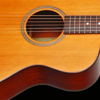 Teton STG105NT Grand Concert Guitar & Deluxe Hardshell Case, Solid Cedar Top, Mahogany Back & Sides
