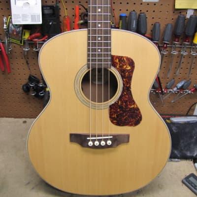 Guild B-240E Acoustic Electric Bass  2020 Natural - NOS Never Retailed w/Premium Guild Gig Bag!