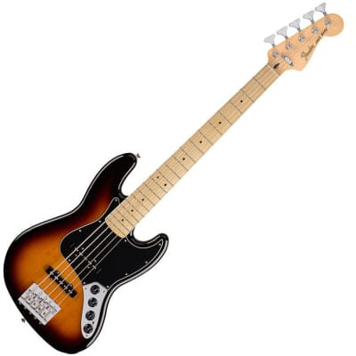 Fender Deluxe Active Jazz Bass V - Maple Neck - 3-Colour Sunburst for sale