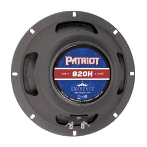 """Eminence Patriot 820H 8"""" 20w 4 Ohm Replacement Speaker"""