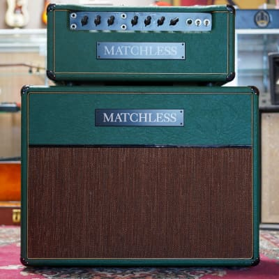 """1996 Matchless H/C 30 Head And Matching ESD 2x12"""" Cab Sampson Era"""