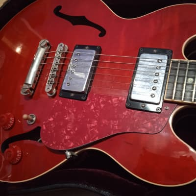 2003 Gibson CS-336 (little ES 335)  + 1967 Gibson pickups