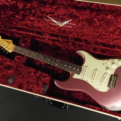 Fender Custom Shop Limited Edition 1960 Stratocaster - Burgandy Mist Metallic over 3-Tone Sunburst (025) for sale