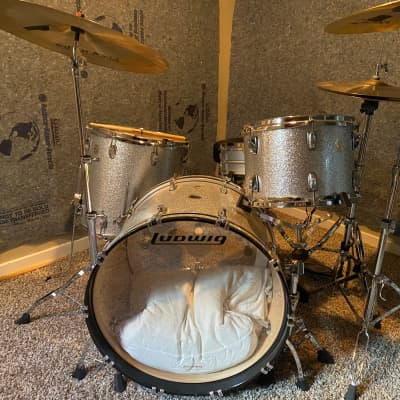 ludwig Classic Maple 2015 silver sparkle