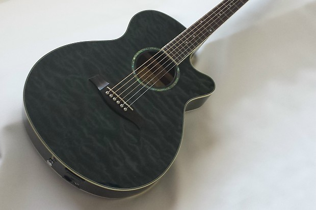 ibanez aeg25e acoustic electric guitar in transparent black reverb. Black Bedroom Furniture Sets. Home Design Ideas