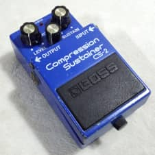 Boss CS-2 Compression Sustainer Blue