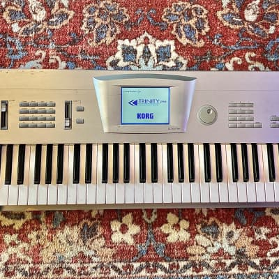 Korg Trinity Plus serviced with Solo Tri Prophecy board