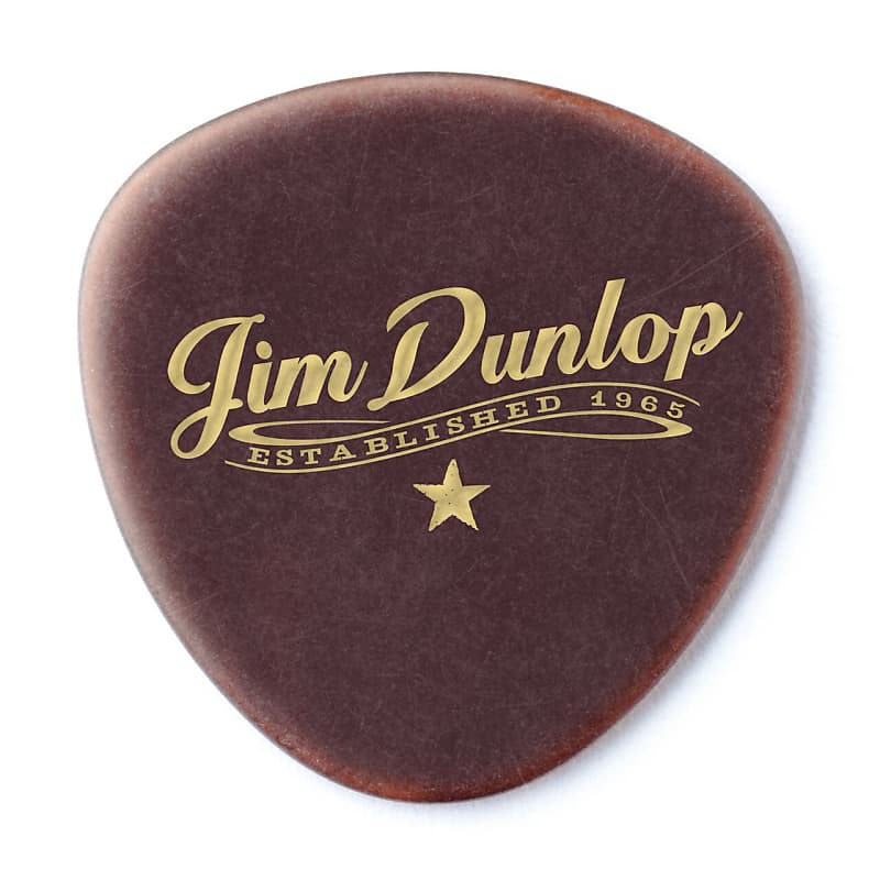 Dunlop 494P101 Americana Round Triangle Pick 1.5mm (3-Pack)
