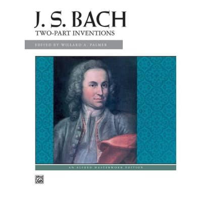 J. S. Bach: Two-Part Inventions Item # 604