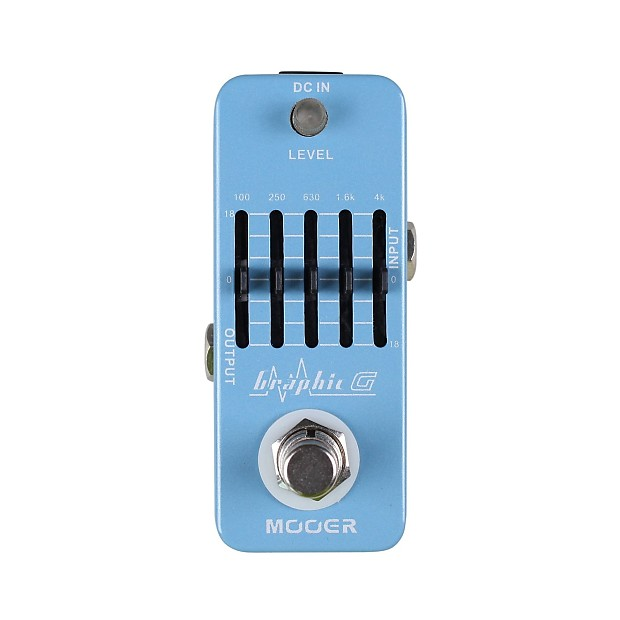 Mooer Graphic G 5 band true bypass guitar equalizer pedal ...