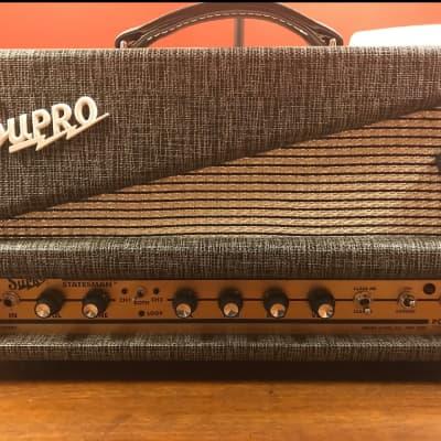 Supro 1699RH Statesman 2-Channel 50-Watt Tube Guitar Head