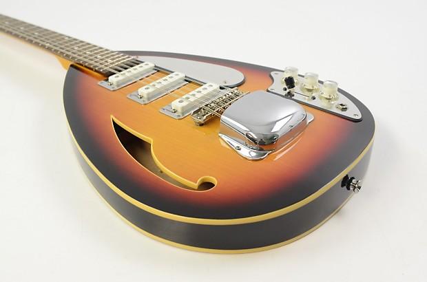 phantom teardrop 12 string hollow body electric guitar reverb. Black Bedroom Furniture Sets. Home Design Ideas