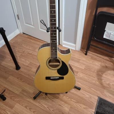 Samick Greg Bennet GA-100SCE/N 2013 Natural Acoustic Electric for sale