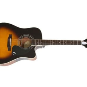 Epiphone PRO-1 Ultra Acoustic Electric Guitar (Vintage Sunburst) (Used/Mint) for sale