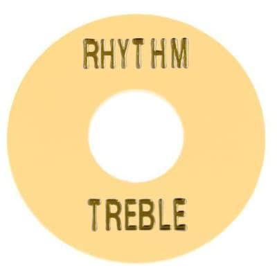 Rhythm and Treble Switch Ring - Cream Plastic
