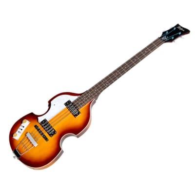 Hofner Violin Bass Pro Edition Sunburst-Left Handed HI-BB-PE-L-SE - Used for sale